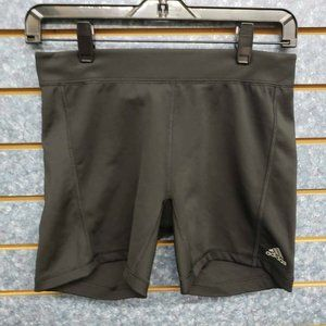 Adidas Climalite Spandex High Waisted Black Shorts